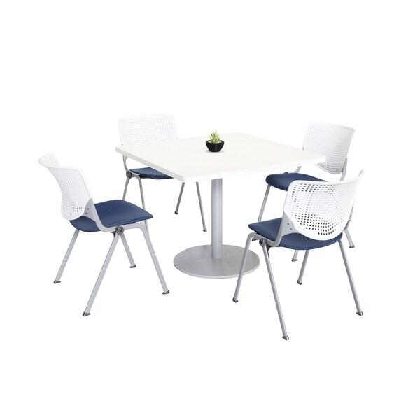KFI KOOL Table & Chair set, White Table Top