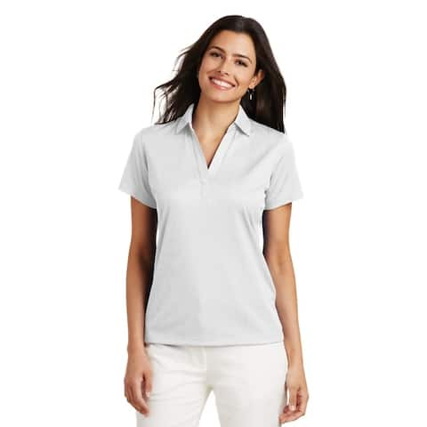Port Authority Ladies Moisture Wicking Solid Golf Polos in XS-4XL