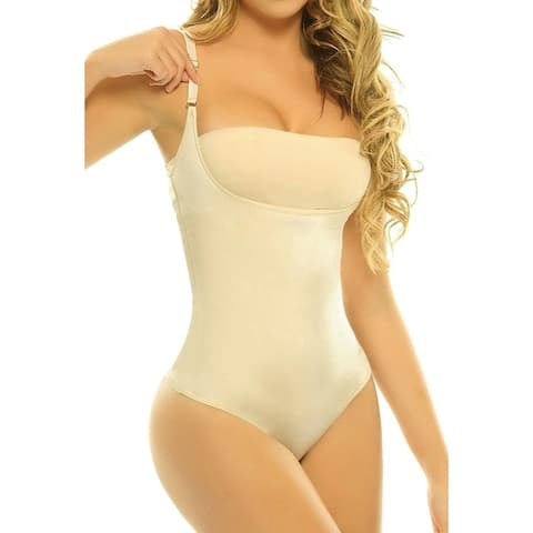 High Compression Shaper Bodysuit in Regular and Plus Sizes