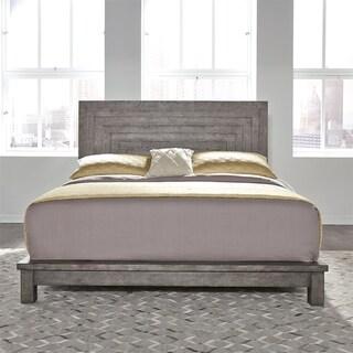 Modern Farmhouse Dusty Charcoal King Platform Bed