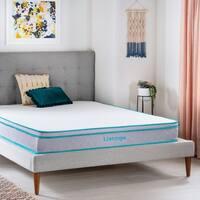 LinenspaEssentials 8-inch Twin-sizeAlwaysCool™ Memory Foam Hybrid Mattress