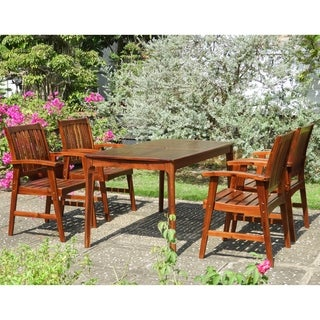 International Caravan Highland 5-Piece Patio Dining Set