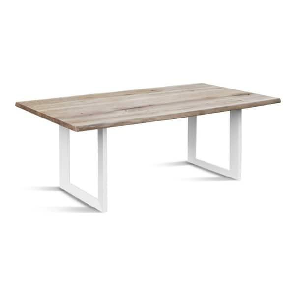 Dining Table Whitewashed Oak White