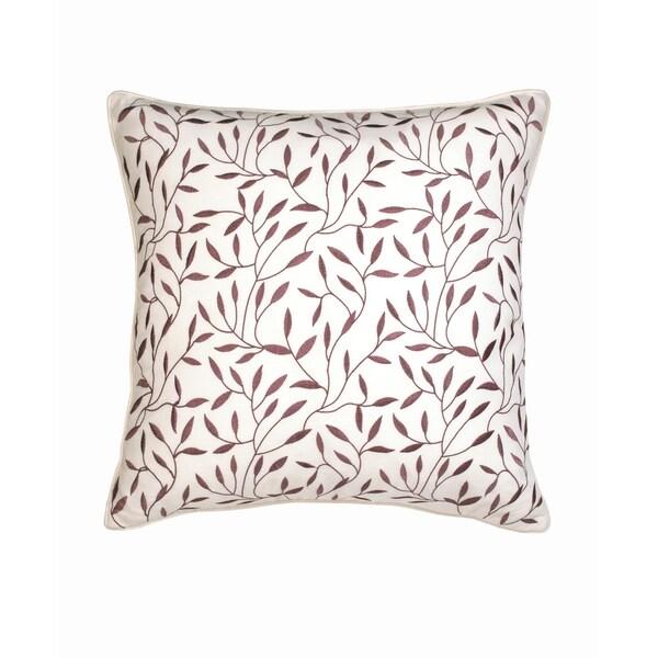 Lillian August Provence Lilac Leaf Dec Pillow