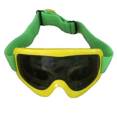 Yellow Bobsled Goggles