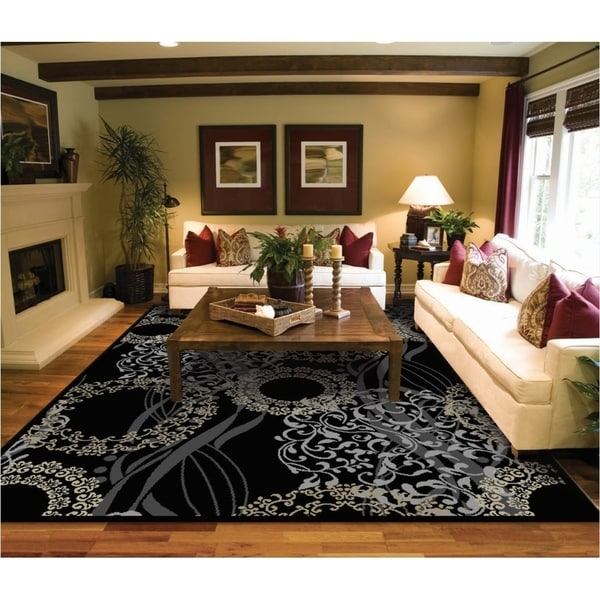 Copper Grove Raasepori Black And Cream Area Rug