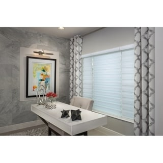 Link to Sheer Zebra Roller Shade in Grey Similar Items in Blinds & Shades