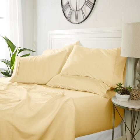 Luxury Ultra Soft 6 Piece Bed Sheet Set by Sharon Osbourne Home