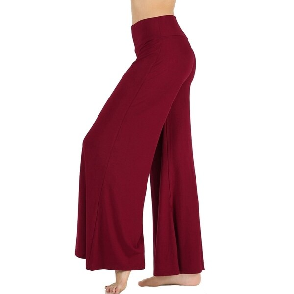 JED Women's 29-inch Inseam Wide Leg Palazzo Pants