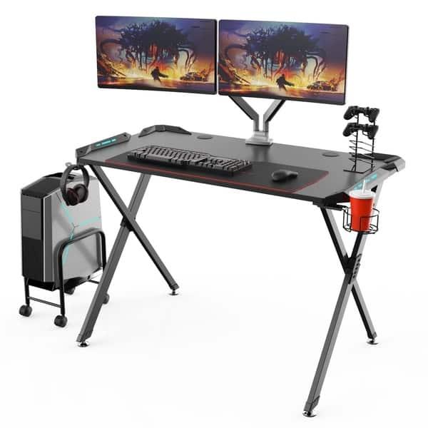 Shop Eureka Ergonomic X1 S Gaming Computer Desk With Led