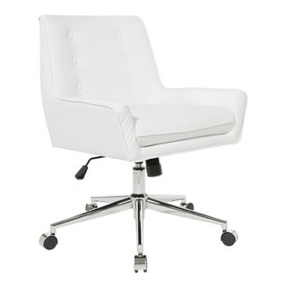 Quinn Office Chair with Faux Leather