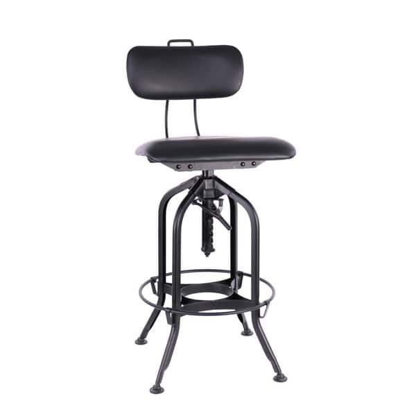 Swell Shop Carbon Loft Carvey Black Padded Seat Adjustable High Customarchery Wood Chair Design Ideas Customarcherynet