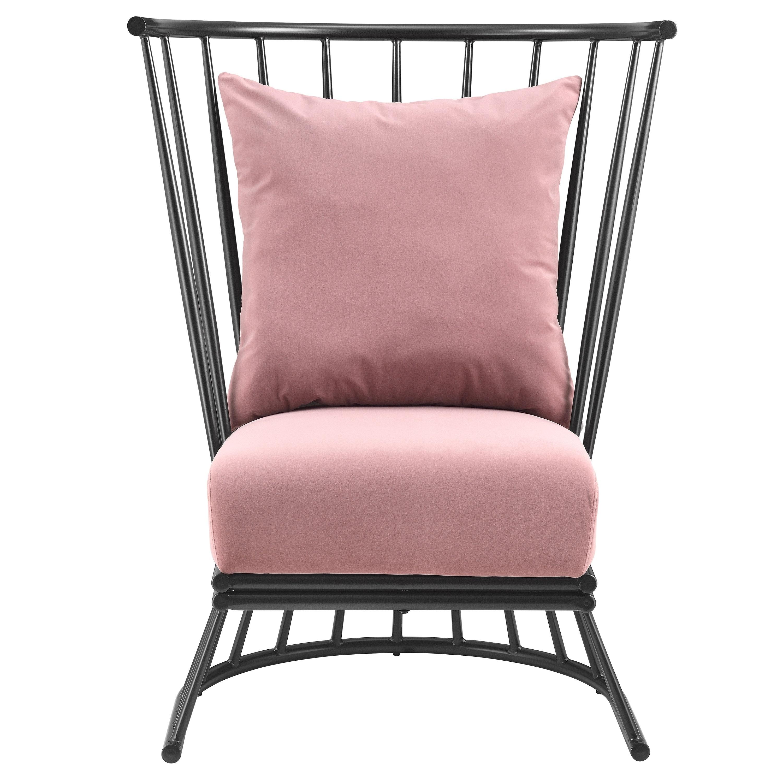 Excellent Jupiter Velvet Fabric Metal Accent Chair Andrewgaddart Wooden Chair Designs For Living Room Andrewgaddartcom