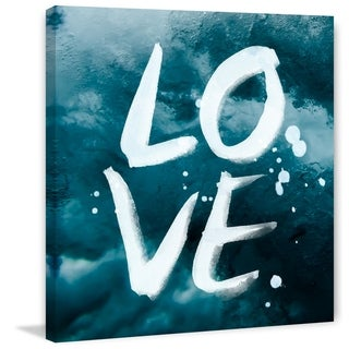 Marmont Hill - Handmade Love IV Print on Wrapped Canvas