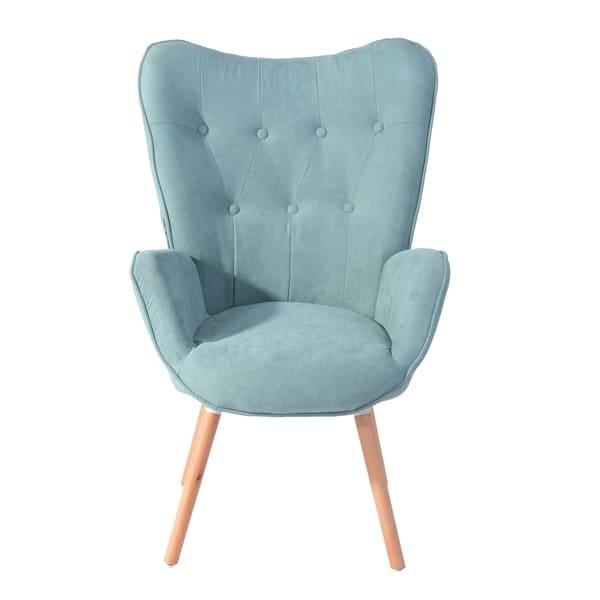 Enjoyable Shop Carson Carrington Falltorp Velvet Tufted Accent Chair Forskolin Free Trial Chair Design Images Forskolin Free Trialorg