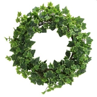 """Link to 18"""" Artificial Ivy Front Door Wreath W/308 LVS Similar Items in Decorative Accessories"""