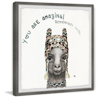 Marmont Hill - Handmade You Are Amazing III Framed Print