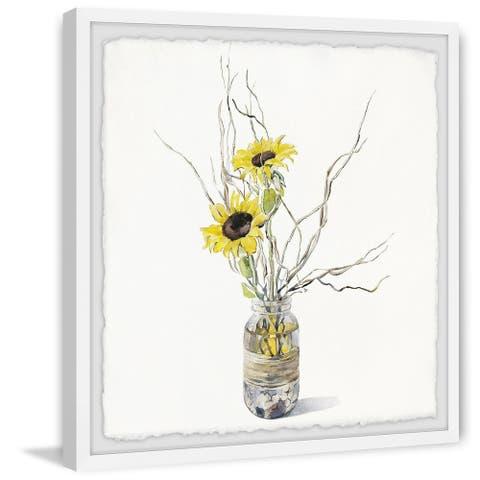 Carson Carrington Handmade Sunflower Bloom Framed Print