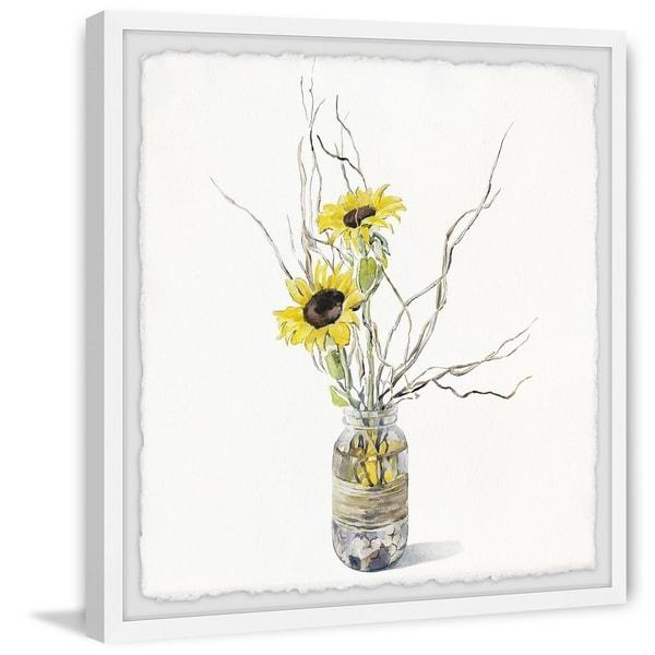 Carson Carrington Handmade Sunflower Bloom Framed Print. Opens flyout.