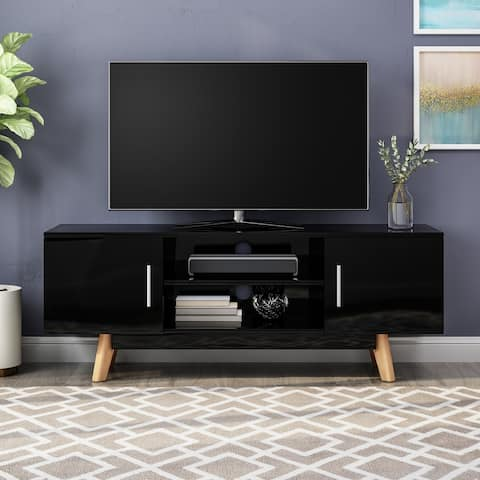 Christopher Knight Home Ariade Mid-century Faux Wood TV Stand for TVs up to 50-inches