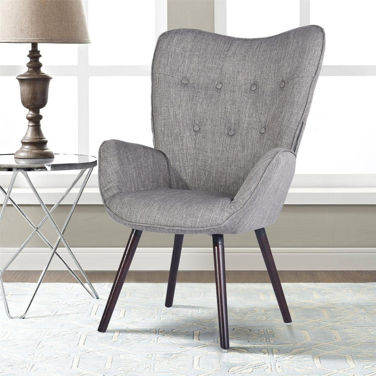 Phenomenal Carson Carrington Falltorp Mid Century Modern Armchair Ocoug Best Dining Table And Chair Ideas Images Ocougorg