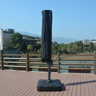 Link to Patio Umbrella Cover Fits 9-11 ft Outdoor Protect Cover Similar Items in Patio Furniture