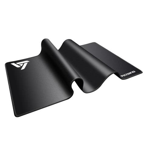 VicTsing Gaming Mouse Mat Large Size ExtendedMousePadWater Resistant Mouse Pad with Rubber Base for Computer PC Laptop Black