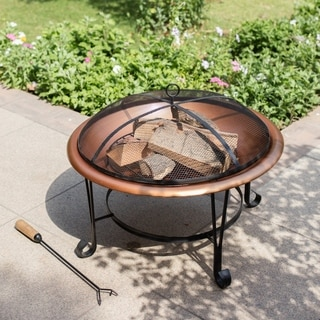 Suffolk Copper Wood Burning Fire Pit