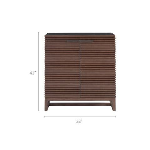 Universal Furniture Henley Brown Wood Bar Cabinet