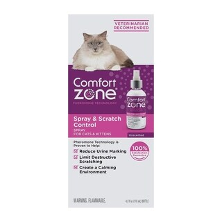 Comfort Zone Cat Calming Spray (4 ounces)
