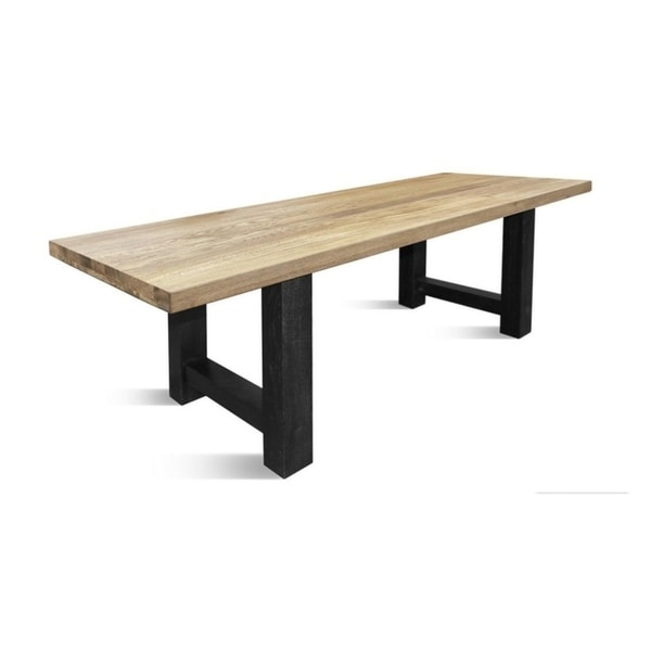 KASSEL LA Dining table - Natural Oak/Black. Opens flyout.