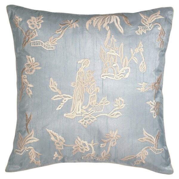 Porch & Den Serena Tea House Decorative Pillow