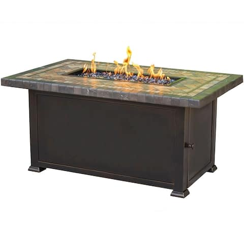 Agio Florence Rectangular Fire Pit