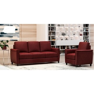 Made to Order Esther 100% Top Grain Leather Sofa and Chair Set