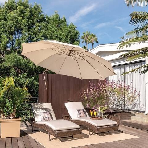 Havenside Home Kongiganak 10-foot Round Cantilever Umbrella