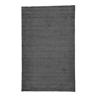 Hand-Loomed Solid Wool Silk Premium Quality Area Rug