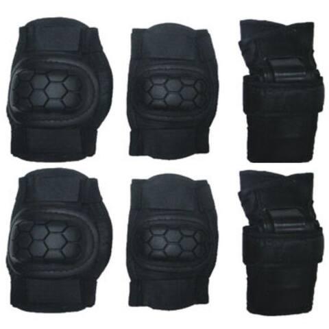 Knee, Elbow & Wrist Guards Protective Pad Set