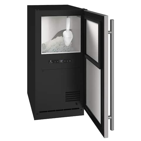 Nugget Ice 15 In Reversible Hinge Integrated 115v