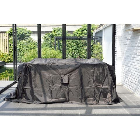 Amazonia Square Protector Cover for patio furniture. Waterproof and Weather resistant