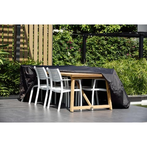 Amazonia Rectangular Protector Cover for patio furniture. Waterproof and Weather resistant