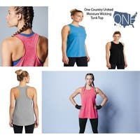 One Country United Ladies Posicharge Wicking Tank