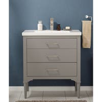 Design Element Mason Grey 30-inch Single Sink Vanity