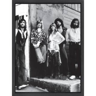 Framed lithograph Fleetwood Mac
