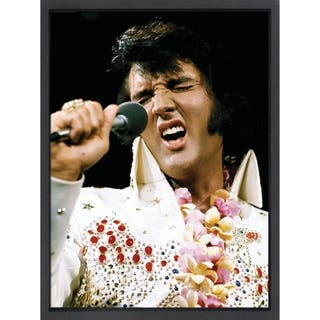 Framed lithograph Elvis Presley