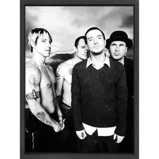 Framed lithograph Red Hot Chili Peppers