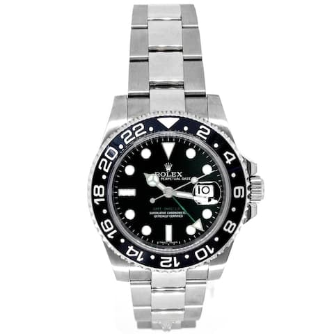 Pre-owned 40mm Rolex GMT-Master II Watch