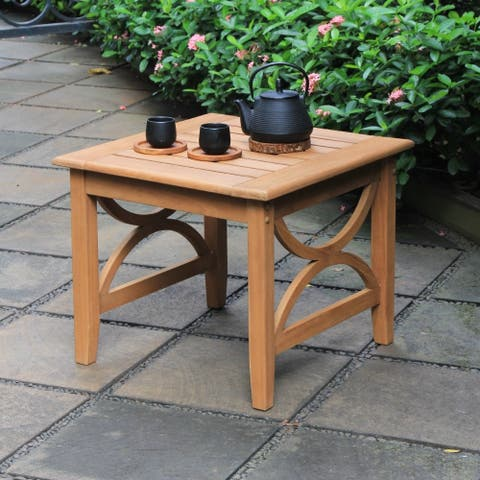Cambridge Casual Chester Teak Patio Side Table