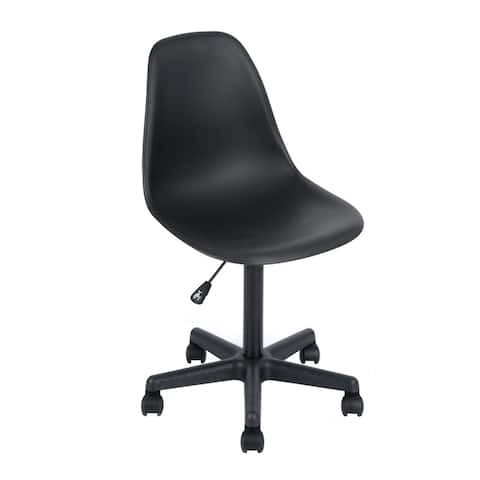 Porch & Den Waterford Black Swivel Office Chair
