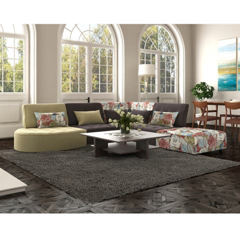 Handy Living McCarthy Modular Sectional in Multi Fabrics