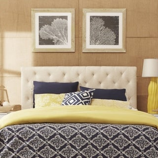 Copper Grove Laasphe Tufted Upholstered Headboard